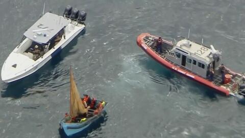 Interceptan al menos 13 inmigrantes en el mar cerca de Dania Beach