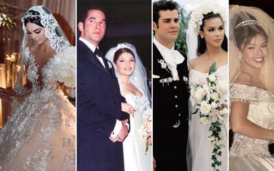 Bodas de las famosas de telenovela