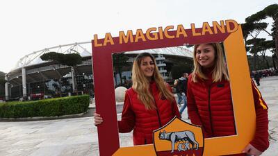 Marco de fiesta en Roma y Manchester para los juegos de vuelta en cuartos de Champions