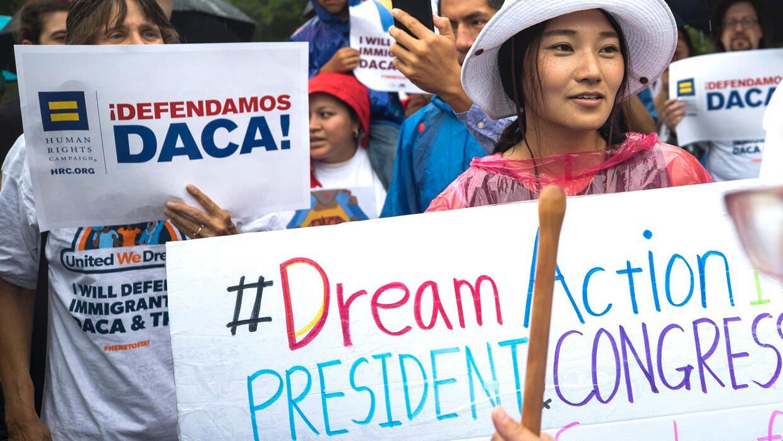 La Casa Blanca prepararía propuesta para mantener DACA a cambio de legis...