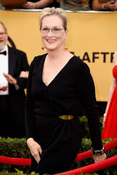 ¡Llegó la reina Meryl Streep!