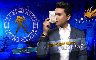 Niño Prodigio - Acuario 21 de junio 2017