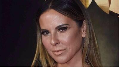 Kate del Castillo sufre un accidente mientras grababa una serie de televisión
