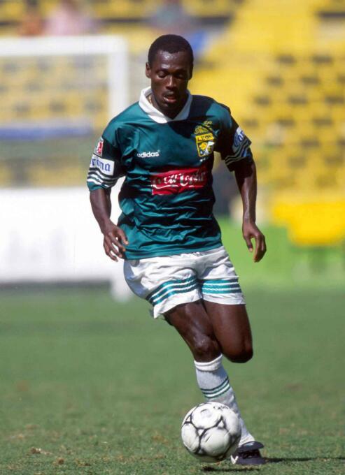 Isaac Ayipey (Ghana) llegó a México desde su país para jugar con los Leo...