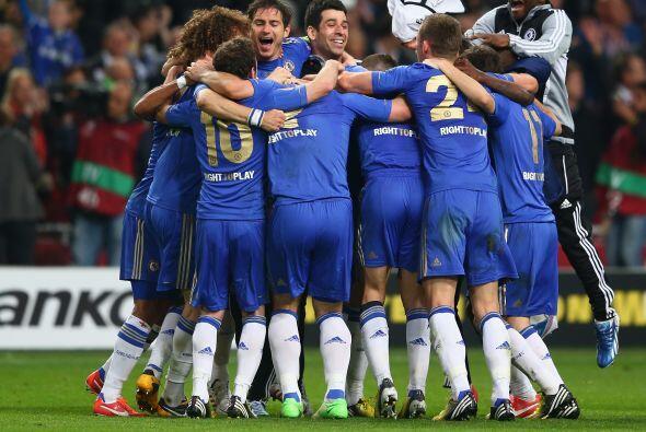 Los 'Blues' levantaban su segunda copa a nivel continental en dos años.