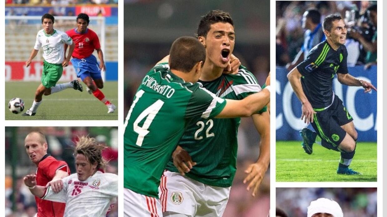 Celebraciones en partidos históricos de México.