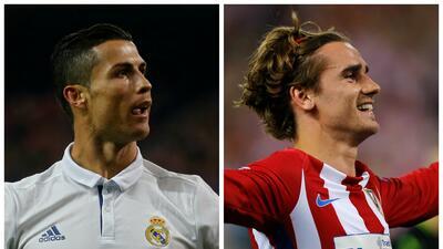 Cristiano versus Griezmann: las semis de Champions encaran a los reyes de Madrid