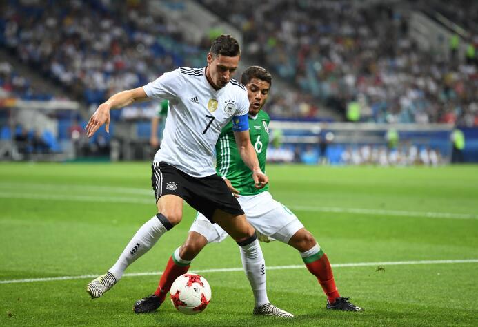 Uno a Uno: A detalle los 22 protagonistas del Alemania vs. México 009 Ju...