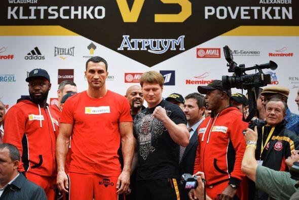 la pelea tiene además el ingrediente de la rivalidad entre Rusia y Ucran...