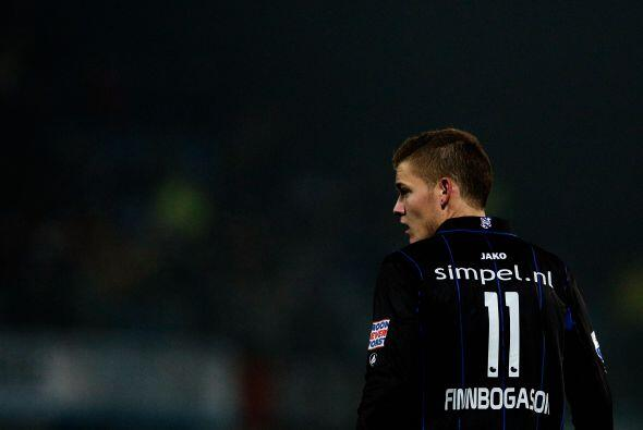 El delantero islandés no ha podido marcar en los 13 partidos que tiene c...