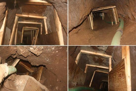 De hecho, la semana pasada se halló un túnel en Nogales qu...