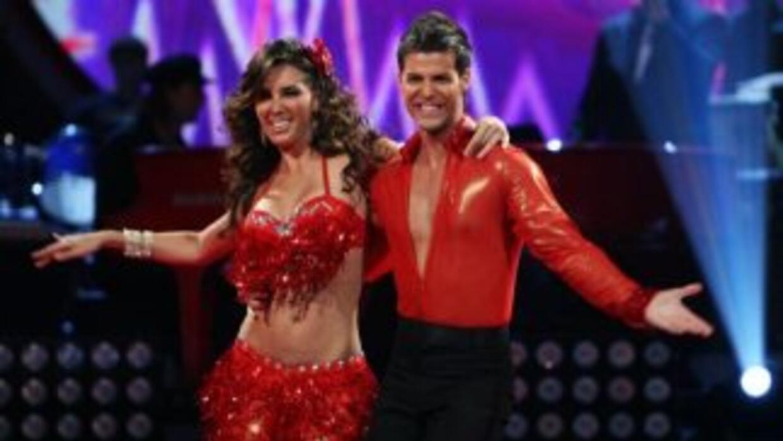 Elizabeth Gutierrez en Mira Quién Baila.