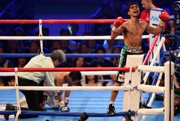 Así Pedro Guevara se coronaba campeón mundial.