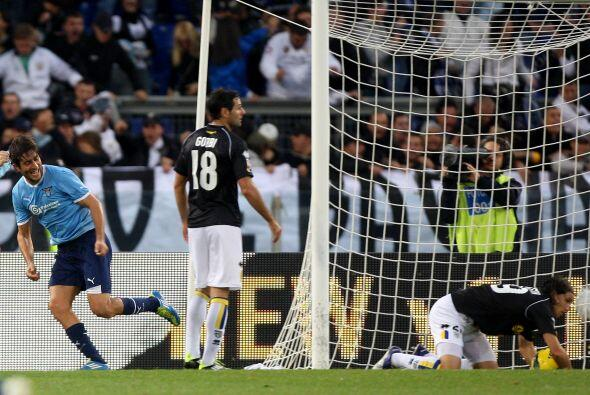 Lazio no quería quedarse atrás de las primeras posiciones de la tabla.