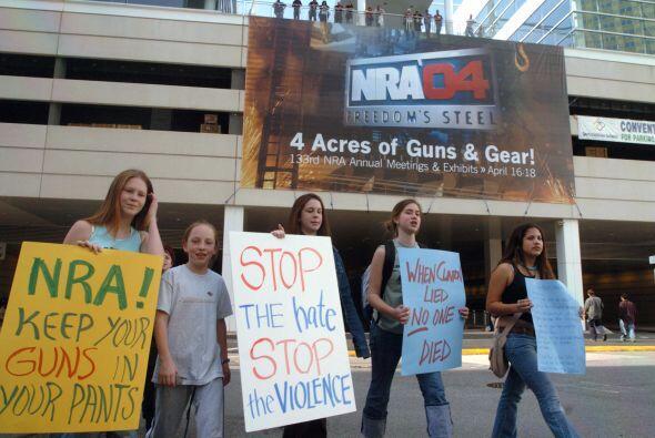 Toda persona tiene derecho a poseer armas en Estados Unidos. La discusió...