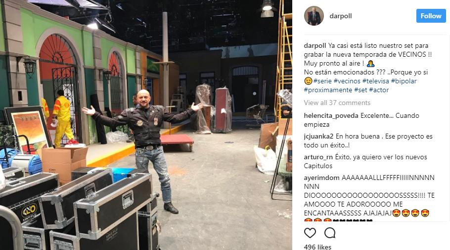 Darío Ripoll compartió su emoción al ver el set lis...