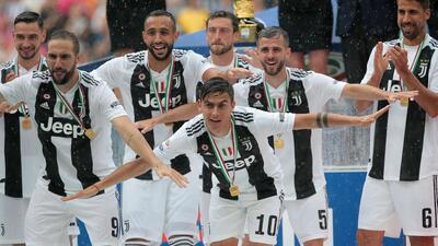 En fotos: Así será el once inicial de la Juventus en la Serie A 2018-19