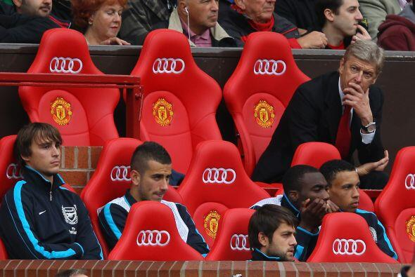 Por su parte, Arsenene Wenger, entrenador de los 'Gunners', no pod&iacut...