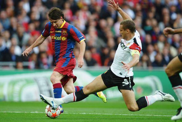 Barcelona no se relajó y mantenía la posesión del balón.