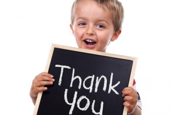 Gratitud: Los chicos instintivamente reconocen dónde están sus fuentes d...