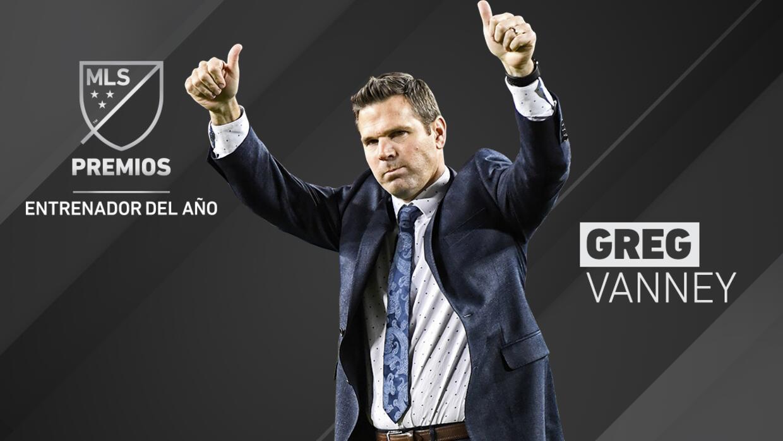 Greg Vanney, líder del proyecto de Toronto FC, fue elegido como el Entre...