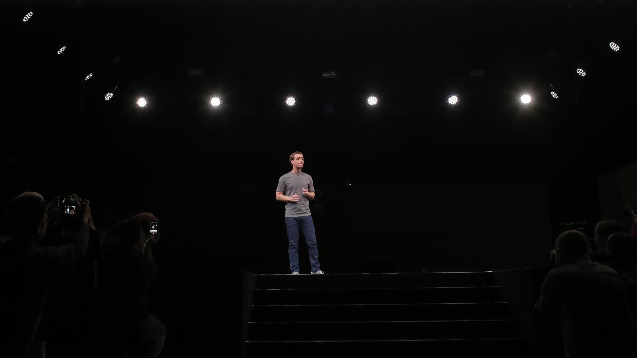 Mark Zuckerberg en Barcelona