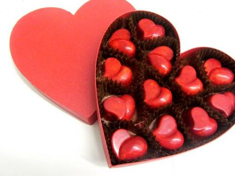 Chocolates para San Valentín. Fuga Chocology