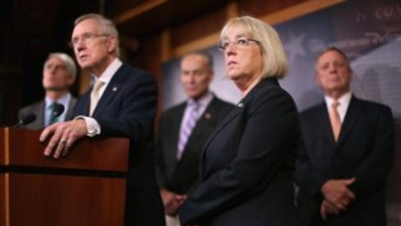 El presidente Obama detallará sus acciones a líderes demócratas del Sena...