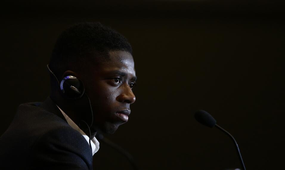 Ousmane Dembélé vuelve a los entrenamientos con Barcelona AP_17240543288...