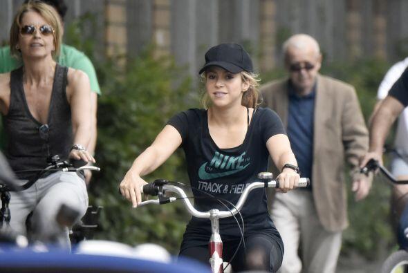 Shakira ha demostrado que no sólo es buena esposa, sino excelente madre.
