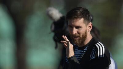 ¿Planes para el retiro o dará una sorpresa? Messi quiere jugar con el Newell's