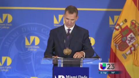 Rey de España habla sobre la importancia del español