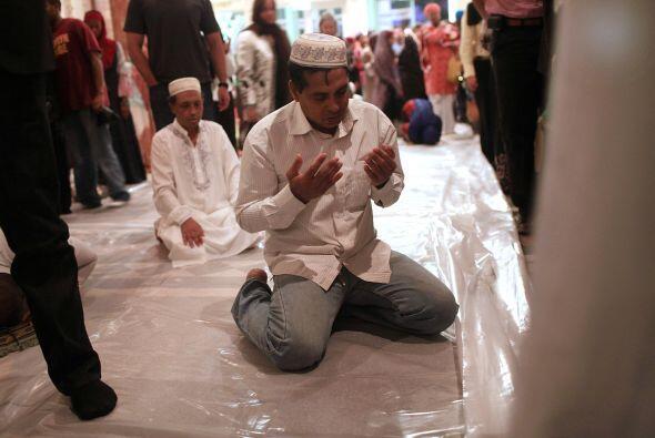 Se estima que el 20% de los musulmanes en el mundo viven en países árabe...