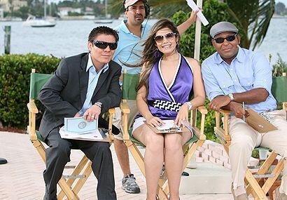 """Un jurado de lujo con el """"Travieso"""" Arce, su esposa y Tony Dan..."""