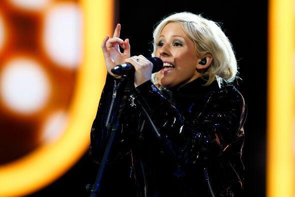 La cantante británica Ellie Goulding puso la nota musical con su popular...