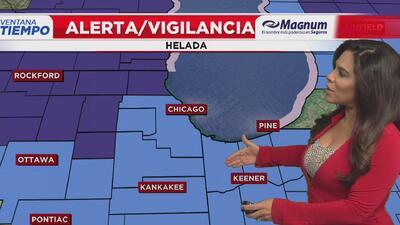 Ventana al Tiempo: Posibilidad de helada y lluvias este fin de semana en Chicago