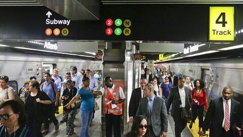 El metro de Nueva York, un reflejo de la diversidad de la ciudad.