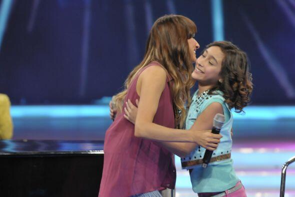 También los famosos sintieron gran emoción al compartir el escenario con...