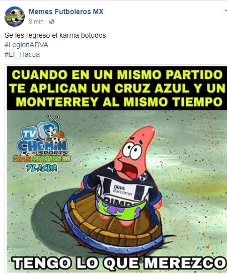 Memes jornada 1 Clausura 2018