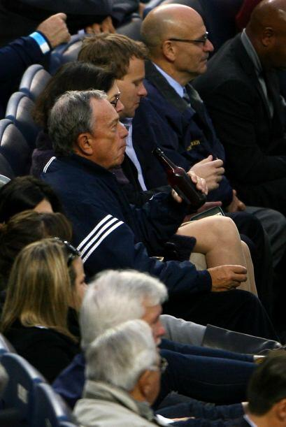 El alcalde de Nueva York, Michael Bloomberg no perdió detalle de las acc...