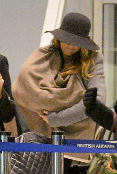 Blake hace ver a la maternidad como algo súper fashion.
