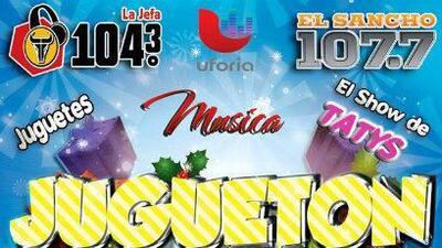 ¡Este domingo 5 de enero no te pierdas nuestro gran evento 'El Jugueton...