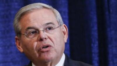 El senador demòcrata por Nueva Jersey, Bob Menéndez.