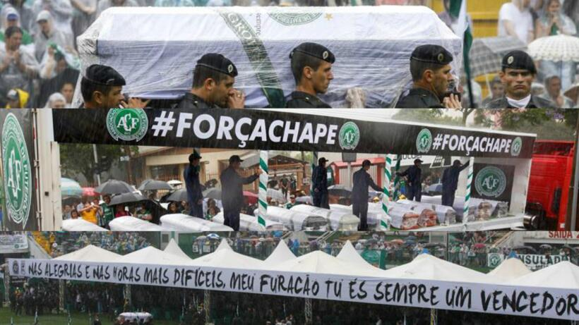 El mundo del fútbol homenajeó al Chapecoense Efe-primera.jpg