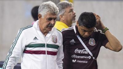 El color del México 1-4 Uruguay: 'Tuca' Ferretti se llevó los principales focos de atención
