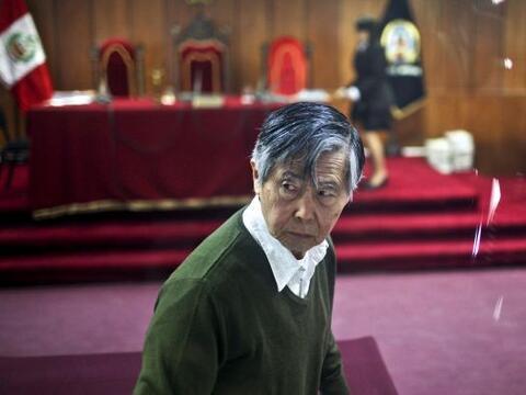 El ex presidente peruano Alberto Fujimori rechazó haber violado l...