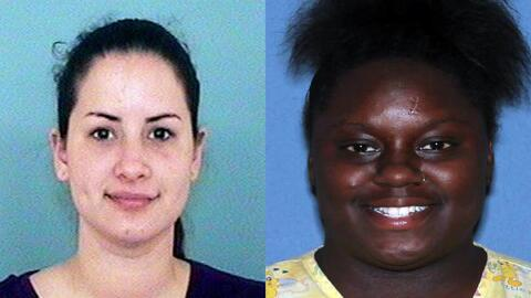 Gabriella Del Carmen García y Fatima Saywer fueron arrestadas por...