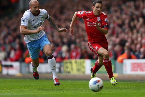 Sin embargo Liverpool se fue con todo a buscar el empate.