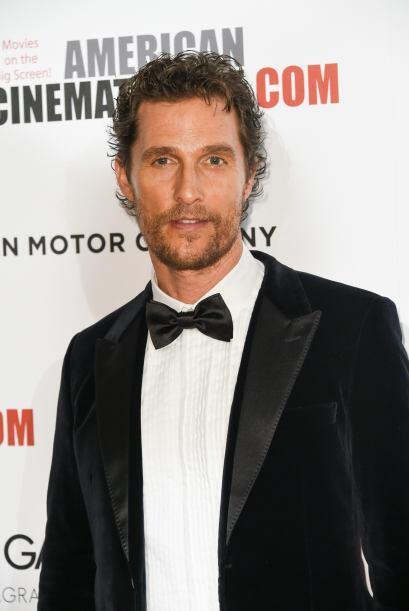 """Varios """"clicks"""" le dieron al sensual Matthew McConaughey la novena y nad..."""