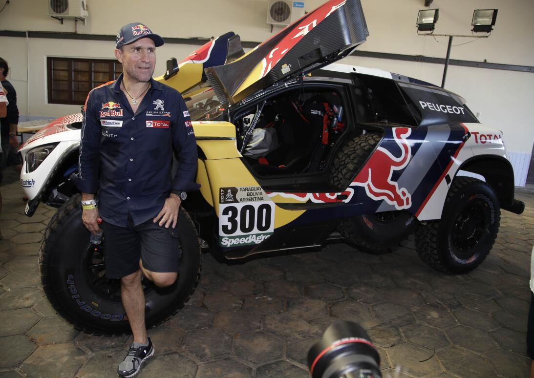 Así fue el comienzo del Rally Dakar en Paraguay AP_17001517787152.jpg
